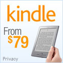 The Amazon Kindle - Starting at only $79